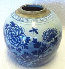 Blue And White Vases Antique Blue And White Chinese Porcelain Antique Vase Floral Design 9