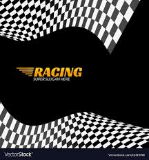 Images Of Racing Flags Racing Background With Race Flag Sport Design Vector Image