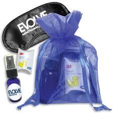 organza bag sleep mask pm kit w lavender spray 5x7in organza bag goimprints
