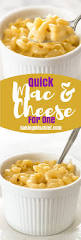 quick mac and cheese for one baking mischief