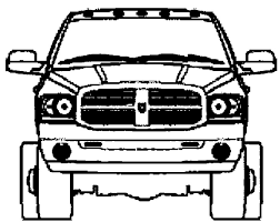 dodge truck coloring pages dodge mini truck coloring page stuff craft