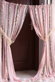 Lemon Nursery Curtains by Sale Pink White Lace Gold Sparkle Sequin Fabric Backdrop Wedding