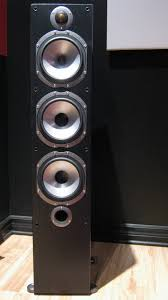 home theater front speakers chris lix u0027s home theater gallery my home theater 13 photos