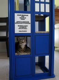 Dr Who Tardis Bookshelf Doctor Who Cat Tree Kindergarten Books Pinterest Cat Tree
