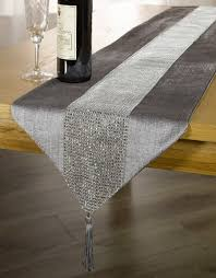 grey table runner silver u2014 home ideas collection grey table
