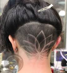 instagram pix of women shaved hair and waves instagram is going crazy for hidden hair tattoos hair tattoos