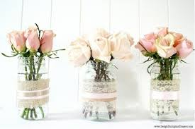 jar center pieces burlap covered jar centerpieces budget brides guide a