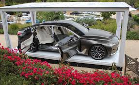bmw future luxury concept bmw vision future luxury concept photos and info car and