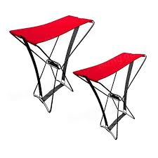 portable outdoor folding stool camping pocket beach chair fishing