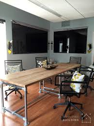 Industrial Boardroom Table 5 Modern Conference Table Ideas Simplified Building