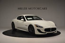 new maserati coupe 2016 maserati granturismo sport stock m1642 for sale near
