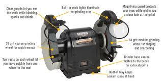 Sharpening Wheel For Bench Grinder Free Shipping U2014 Ironton 8in Bench Grinder Bench Grinders
