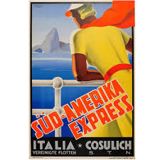 South Dakota Travel Posters images Original 1920s cunard line cruise ship travel advertising poster jpg