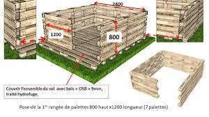 construire son chalet en bois abri jardin en palettes youtube