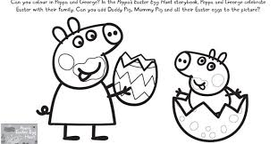 peppa pig easter colouring pages gekimoe u2022 3381