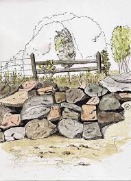 sketching rocks in st vallier u2013 part 2 larry d marshall