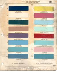 paint chips 1955 fairlane ford truck lincoln mercury thunderbird ford