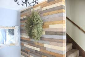 painted wood plank wall hometalk