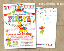 mexican baby shower baby shower invitations marialonghi