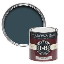 farrow u0026 ball interior u0026 exterior hague blue no 30 gloss paint 2 5