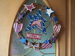 country style shabby chic 4th of july wreath simply sweet home