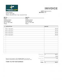 Excel Invoice Template Mac Blank Invoice Templates For Mac Printable Invoice Template