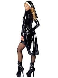 Halloween Usa Costumes Nun Costume Vinyl Leather Cosplay Halloween Costume U2013 Virtual