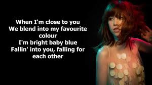 Favourite Color Carly Rae Jepsen Favorite Color Lyrics Youtube