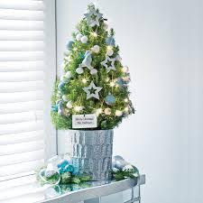 tabletop christmas trees u2013 happy holidays