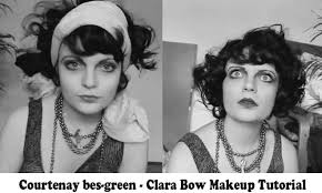 old hollywood glamour hairstyles tutorial clara bow makeup tutorial 1920 s hollywood glamourdaze