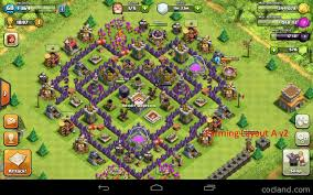 layout design th7 the mantis best base layout for town hall 7 clash of clans