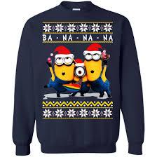 banana sweater minion banana sweater shirt hoodie icestork