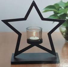 metal tea light holders hestia home collection metal tea light holder 5 smoked glass