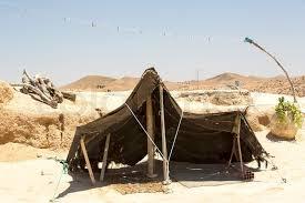 desert tent tent fabric in the desert stock photo colourbox