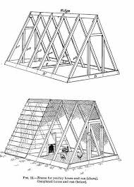 a frame blueprints free chicken coop plans for ark and run for 12 chickens with diagrams