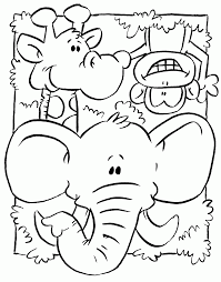 animals jungle aspx pictures of jungle animal coloring pages at