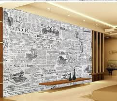 home decoration photo wall murals wallpaper retro black and white