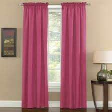 Pink Eclipse Curtains Eclipse Curtains Thermal Weave Pink Window Panel