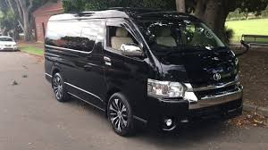 toyota hiace 2015 2015 toyota hiace black gl vip luxury low roof version for sale