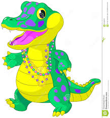 mardi gras alligator mardi gras alligator stock vector image 65268797