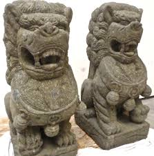 fu dog statues for sale 4ft large fu foo dog lion statues solid carved garden temple