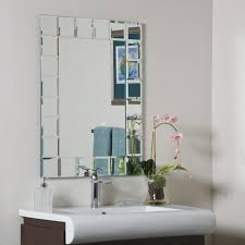 decorative mirrors for bathroom innovative with picture of