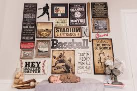 vintage baseball nursery design sweetwood creative co
