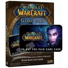 battlenet prepaid card world of warcraft eu 60 days pre paid card