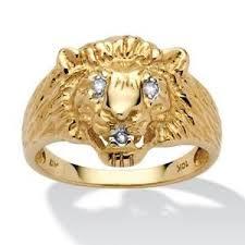 art glass lion ring holder images Lion ring ebay JPG