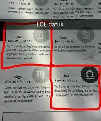 Libra Meme - horoscopes are starting to get weird dafuq know your meme