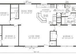 plan 3 bedroom 28 x 48 floorplan 1 floor plans pinterest home 3