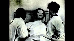 creepy woman behind mask the creature pinterest masking