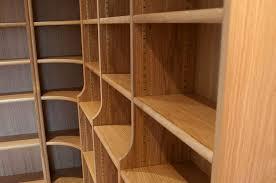 Corner Bookcase Oak Oak Bookcases With Adjustable Shelves 4 Corner Bookcase With