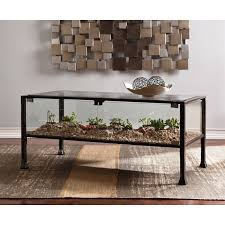 furniture gorgeous glass top coffee table with metal base
